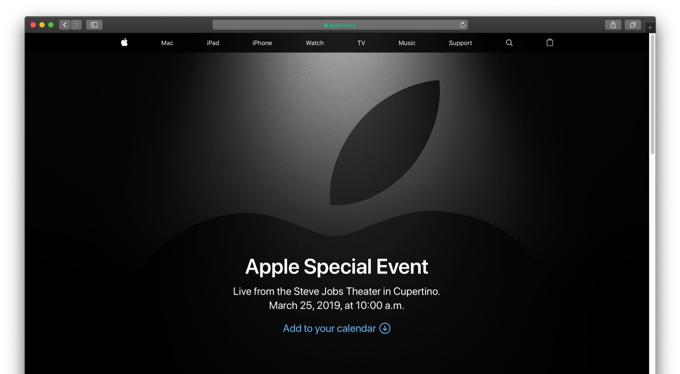 Apple Events - Apple Special Events - Apple