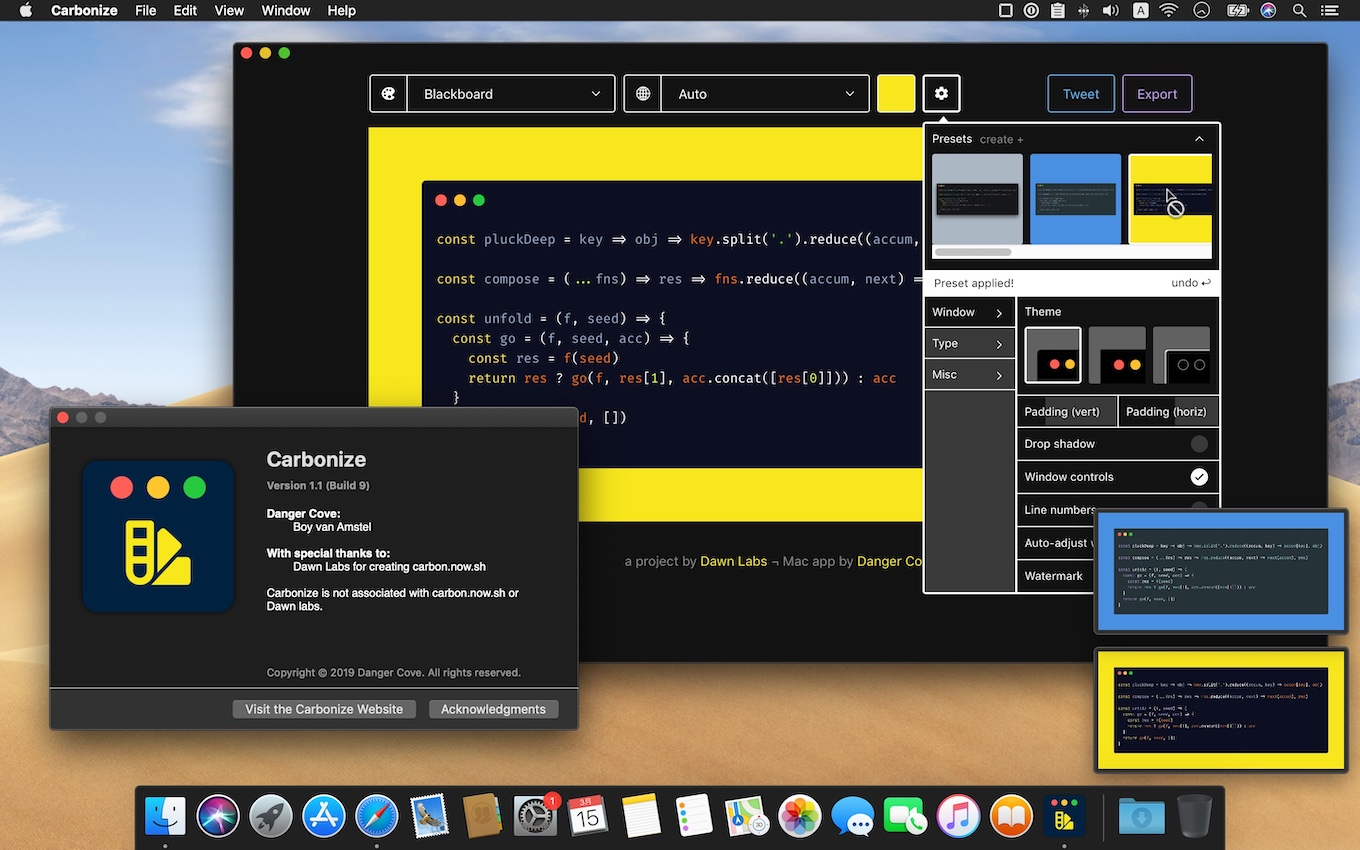 Carbon for Mac