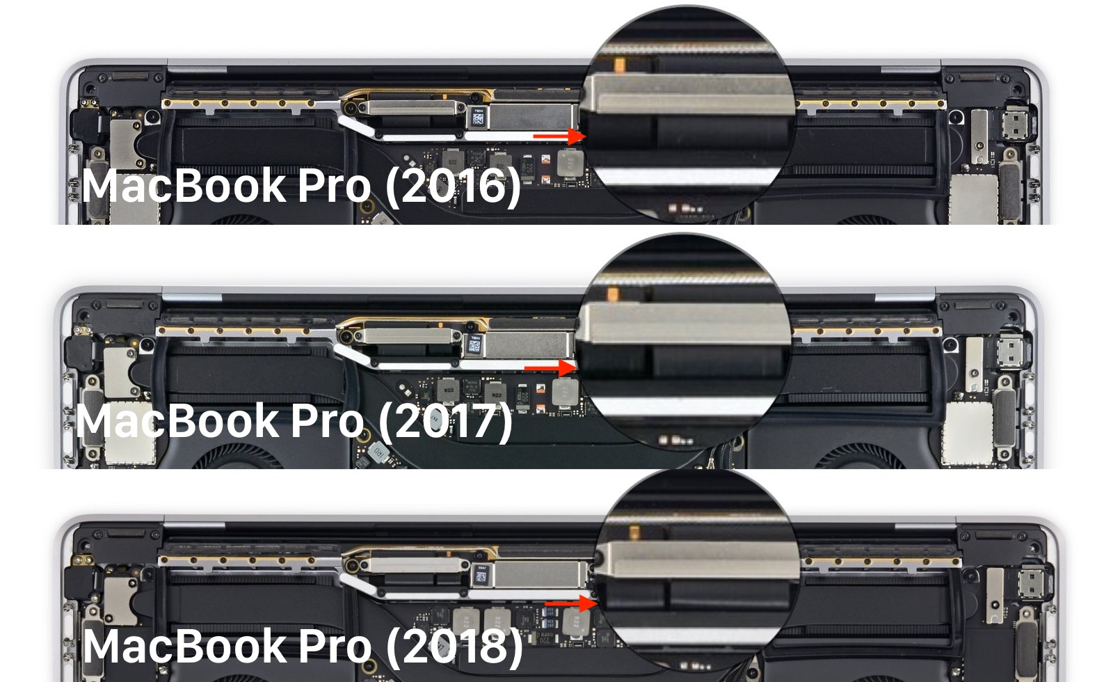 MacBook Pro 2016/2017/2018 Flexgate
