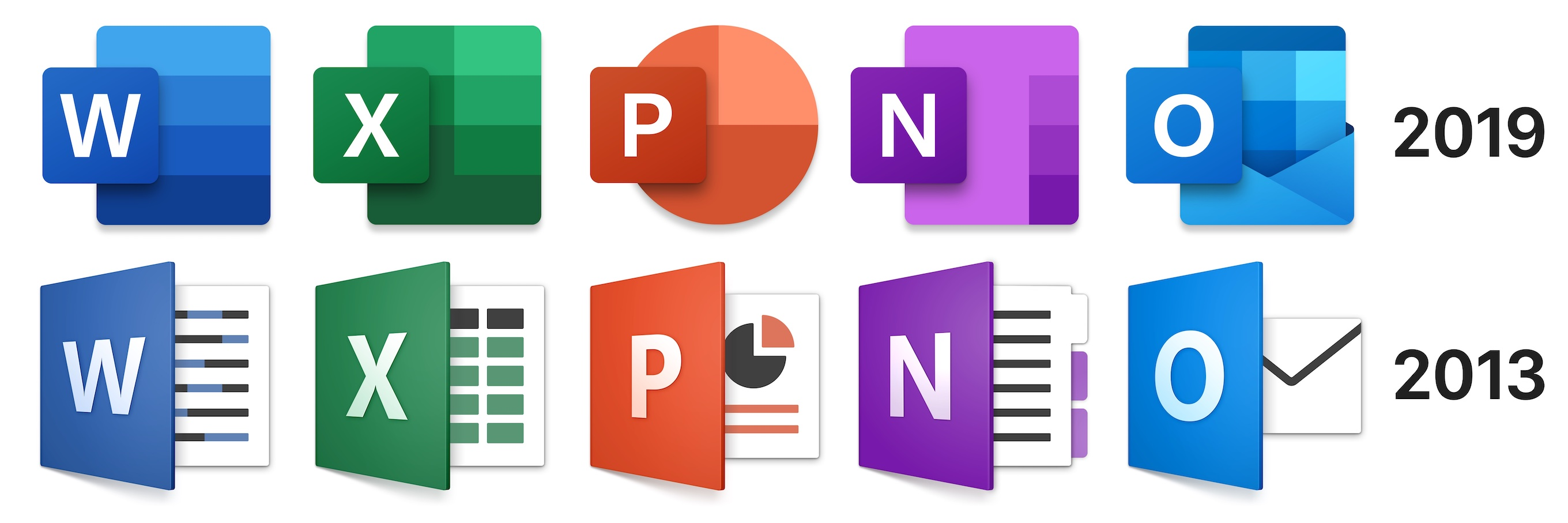 Microsoft Office 365 for Mac New Icons