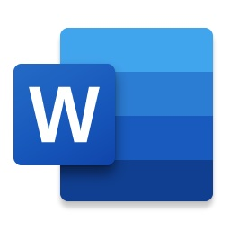 2019 Office 365 for Mac Word New Icon