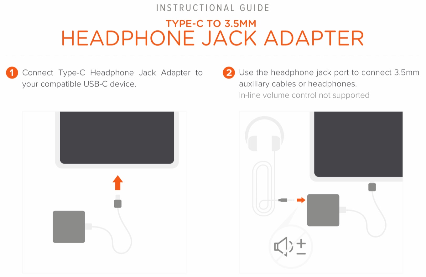 Satechi Type-C to Headphone Jack Adapter Guide