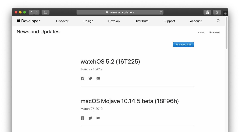 macOS Mojave 10.14.5 beta (18F96h)