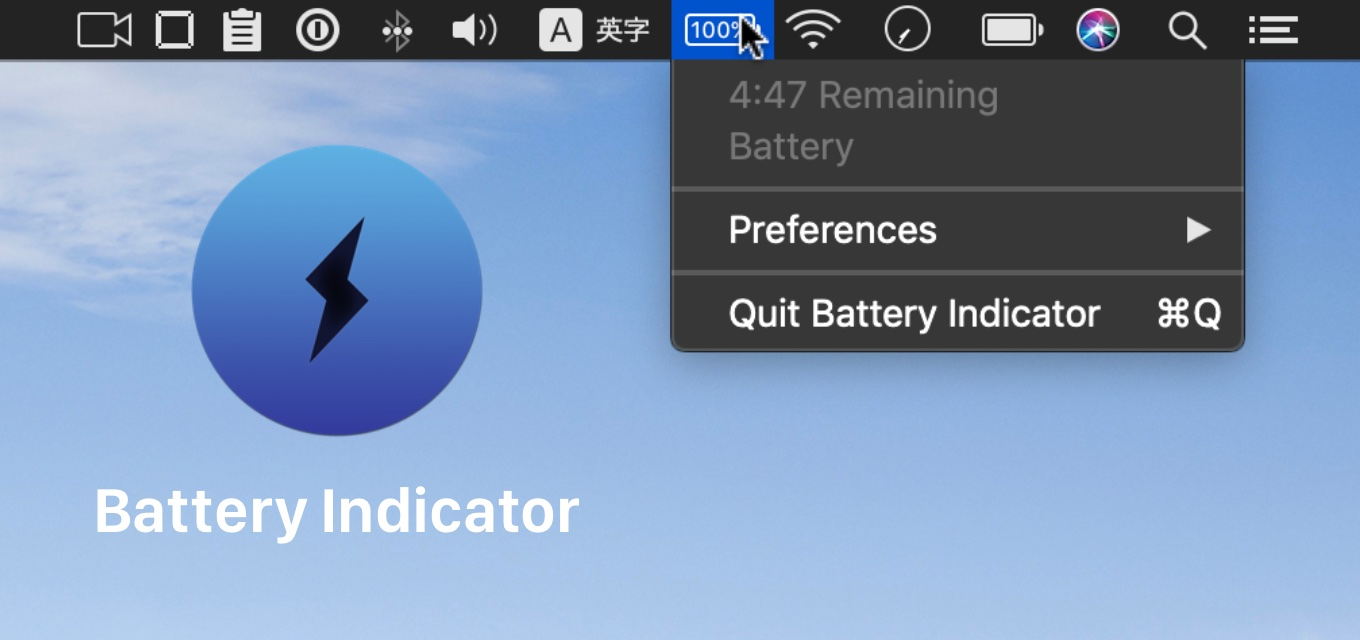 Battery Indicator for Macbook