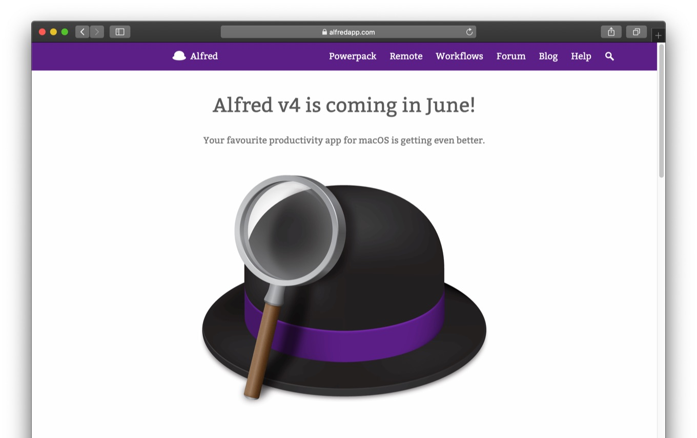 Alfred v4 is coming in June!
