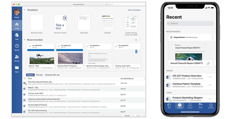 Office for Mac/iOS