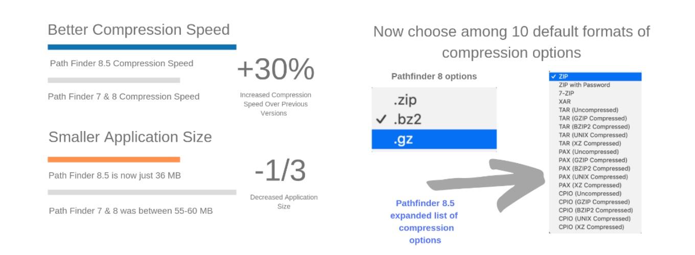 Path Finder v8.5の新機能