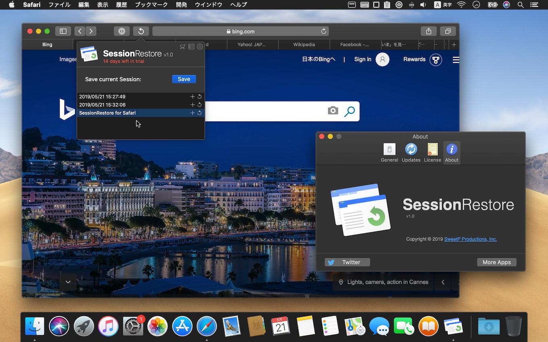 SessionRestore for Safari