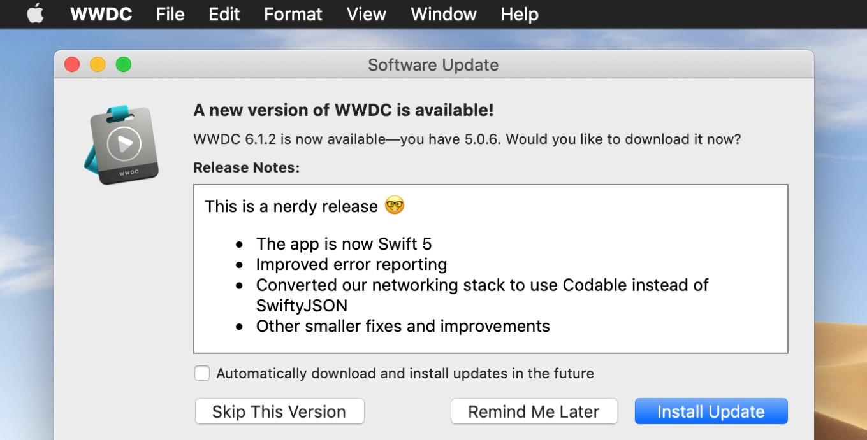 WWDC for macOS v6.1.2
