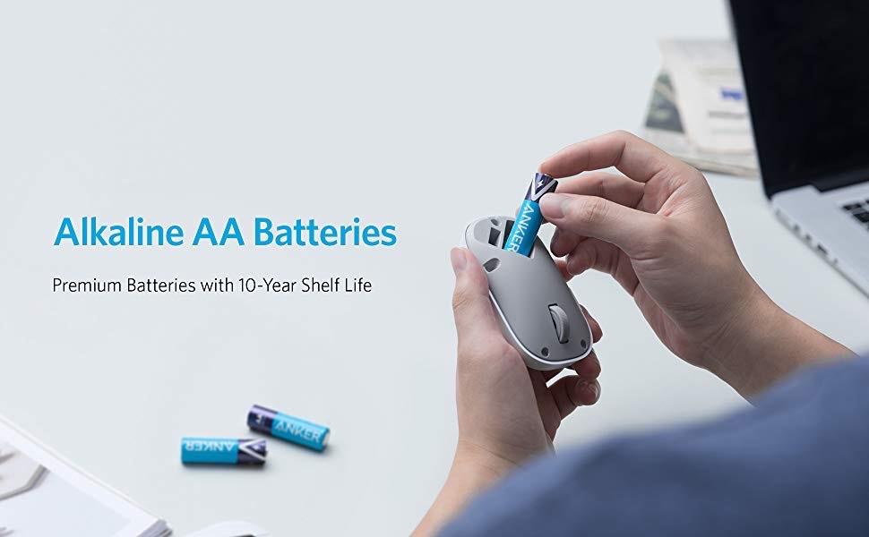 Anker Alkaline AA Batteries