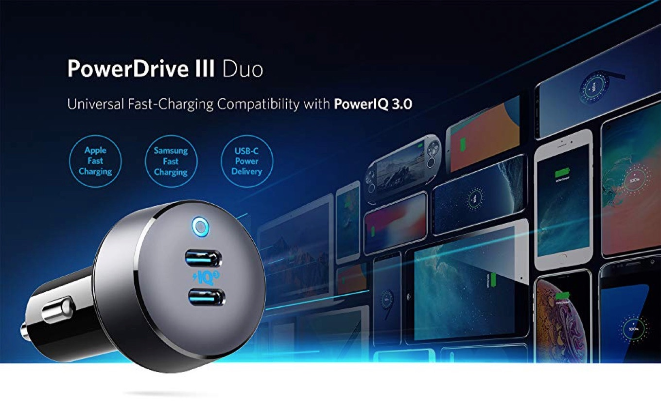 Anker PowerDrive III Duo