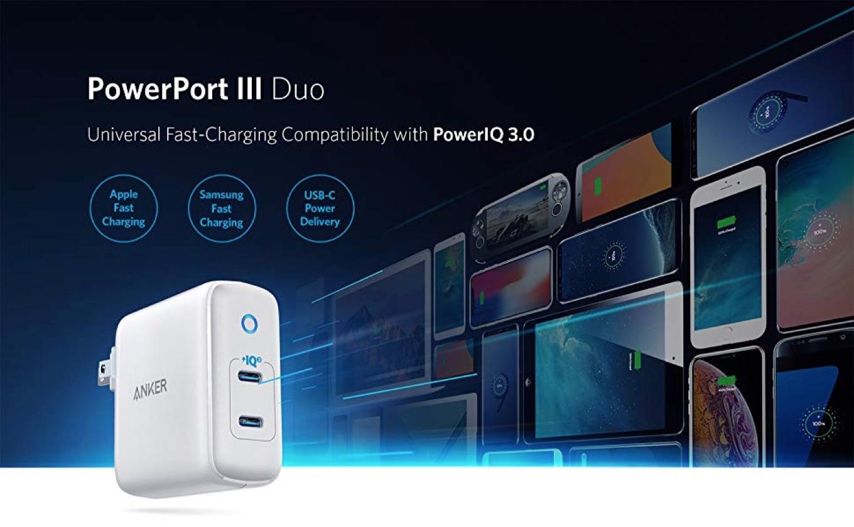 Anker PowerPort III Duo