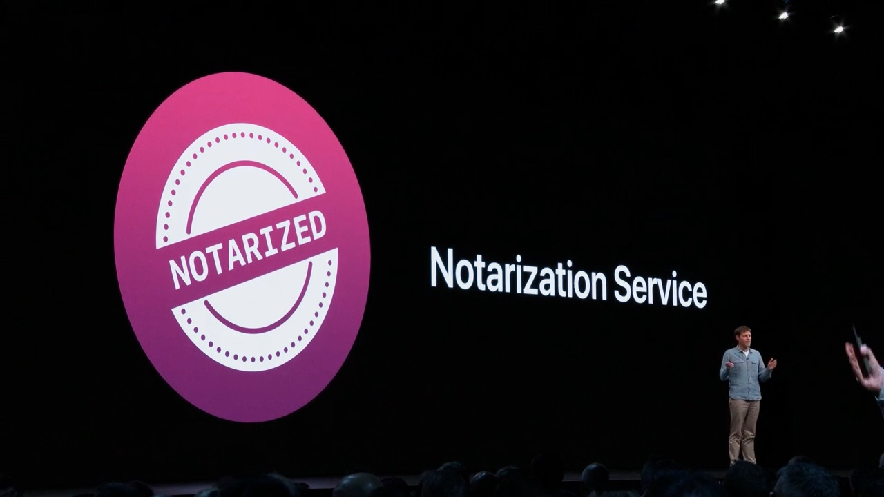 公証サービス(Software Notarized)
