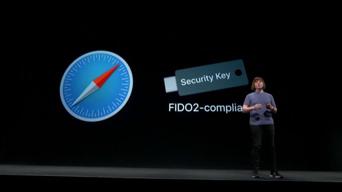 Safari v13がUSBセキュリティキーをサポート