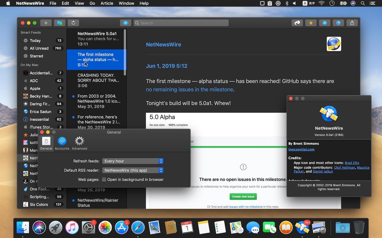 NetNewsWire v5.0 A1