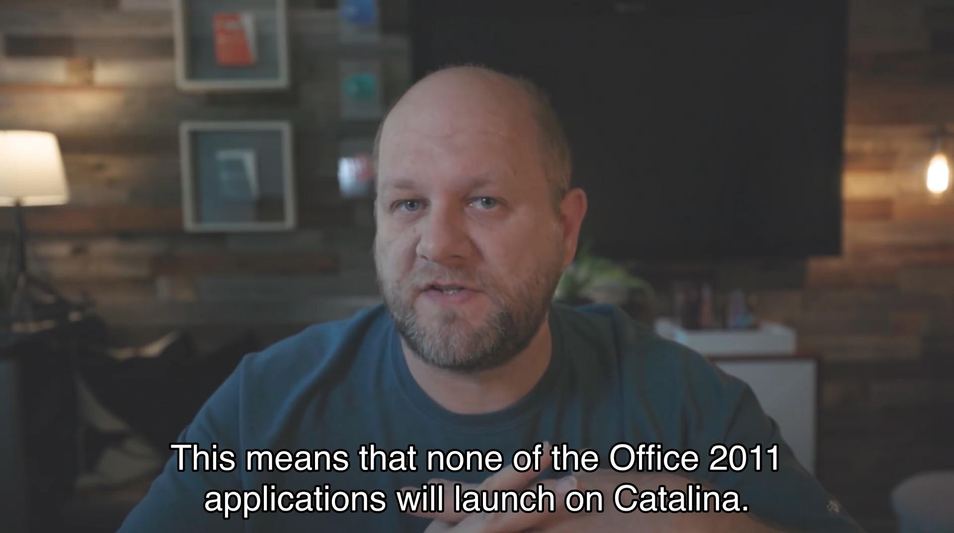 macOS 10.15 Catalinaで起動しないOffice 2011 for Mac
