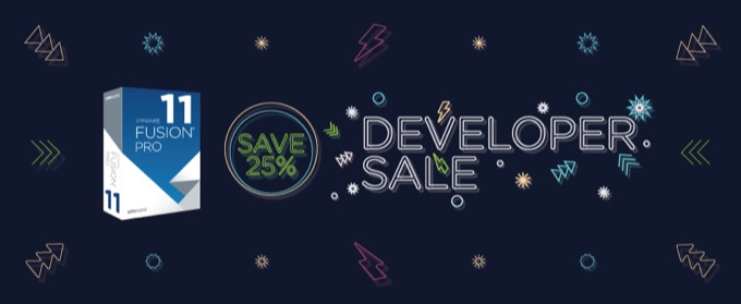 VMware Fusion開発者セール