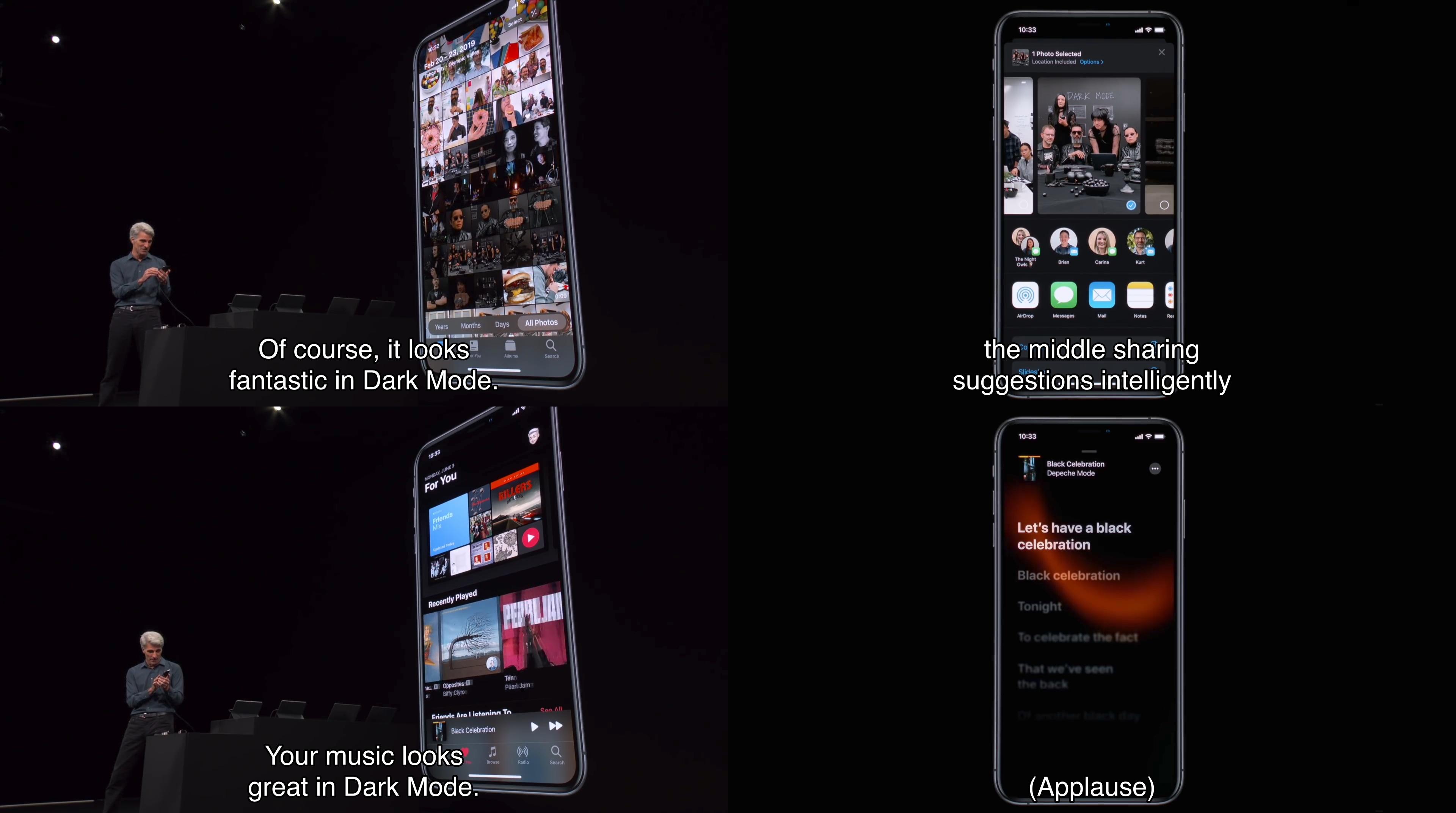 iOS 13のミュージックアプリと写真アプリ