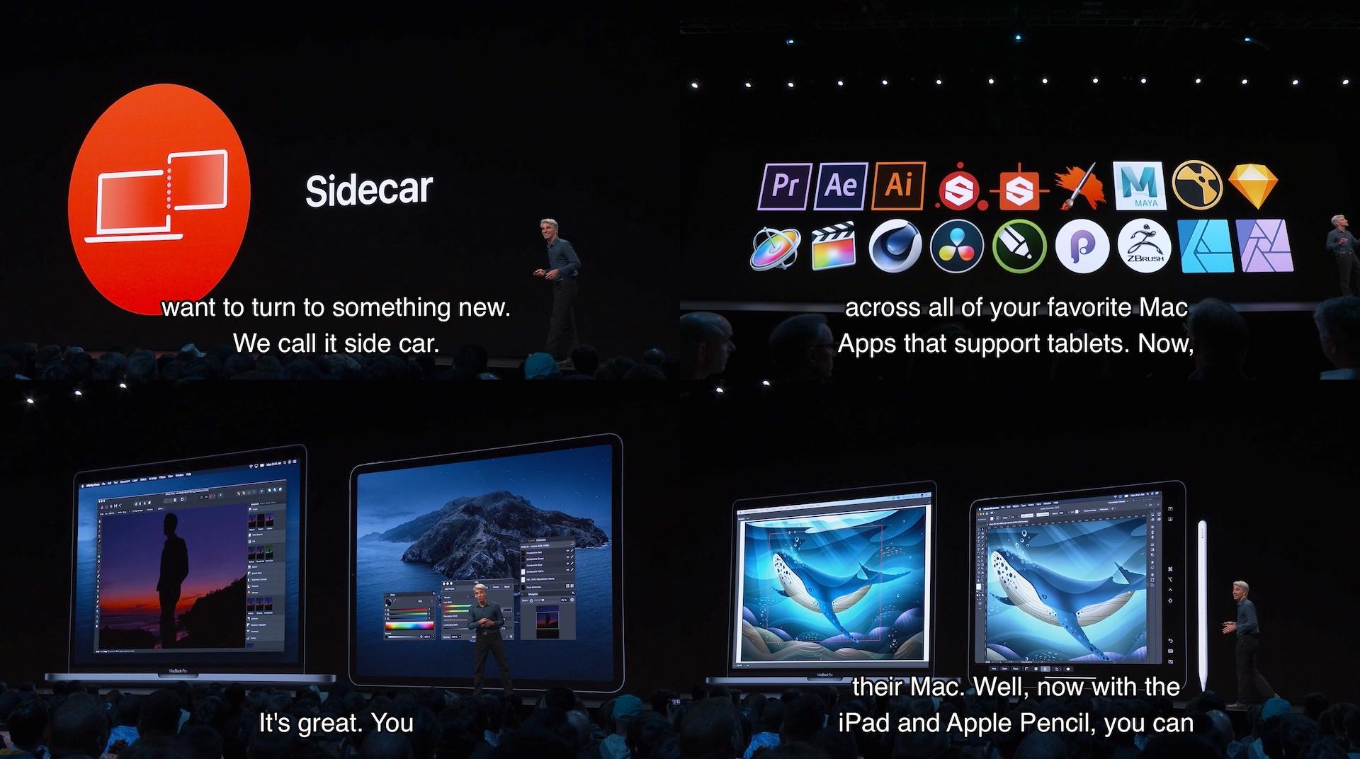 macOS 10.15 CatalinaのSidecar