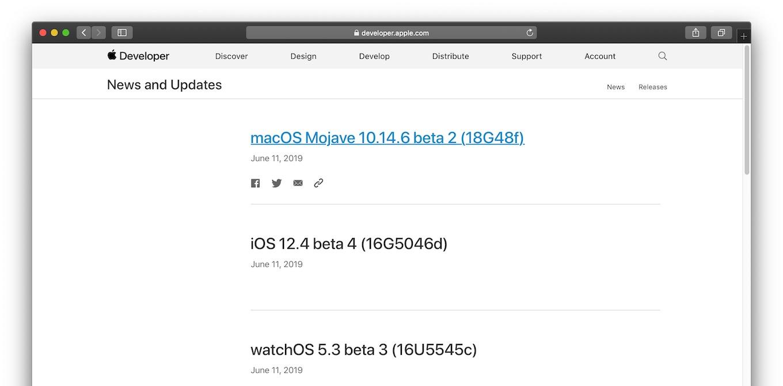 macOS Mojave 10.14.6 beta 2 (18G48f)