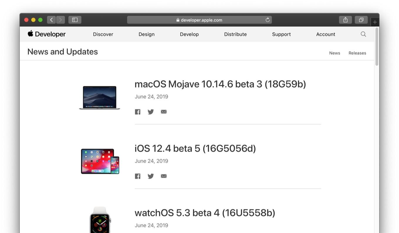 macOS Mojave 10.14.6 beta 3 (18G59b)