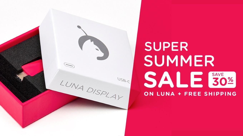 Luna Display Super Summer Sale