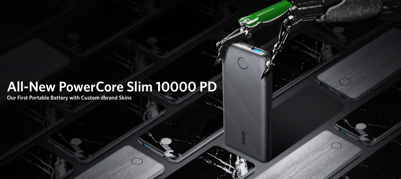PowerCore Slim 10000 PD dbrand Skin