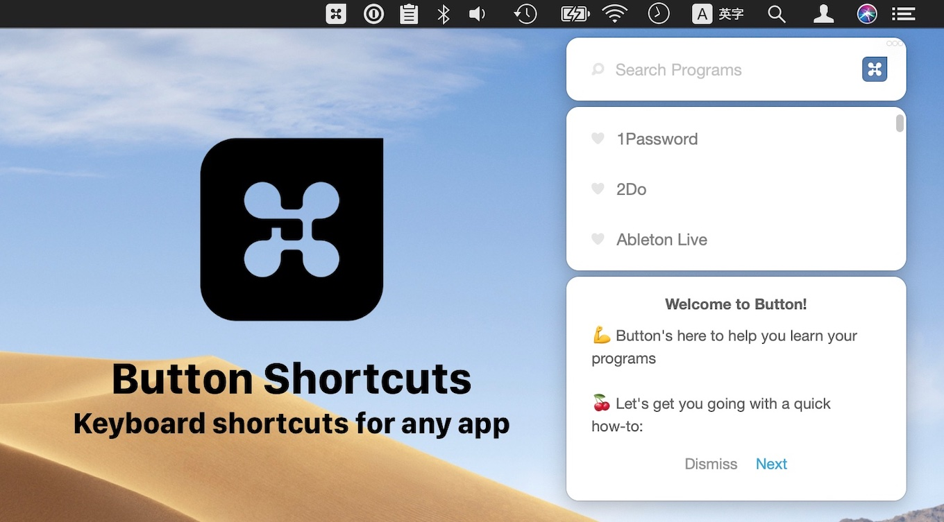 Button Shortcuts