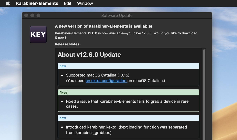 Karabiner-Elements v12.6.0