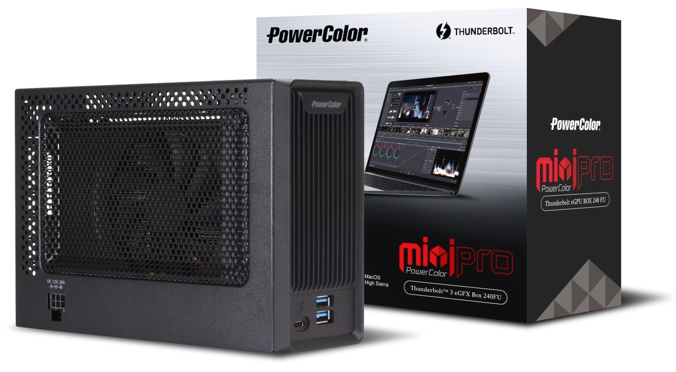 PowerColor Mini Pro Thunderbolt 3