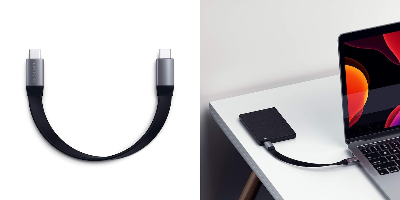 Satechi USB-C to USB-C Gen 2 Flat Cable