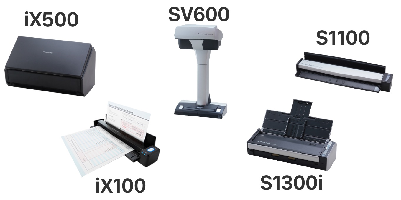 iX500、iX100、SV600、S1300i、S1100