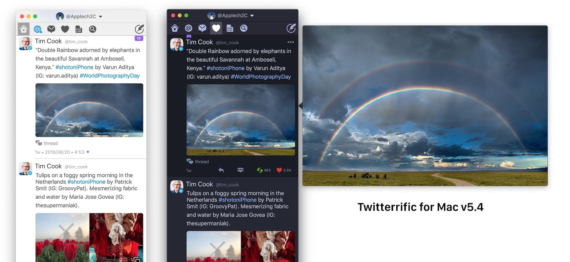 Twitterrific for Macのインラインサムネイルのアスペクト比