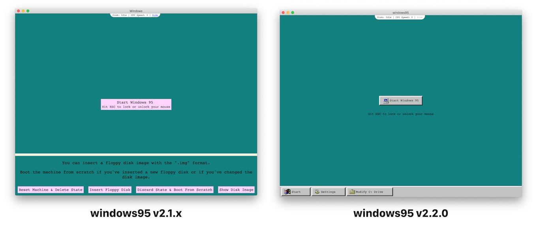 windows95 v2.2.0