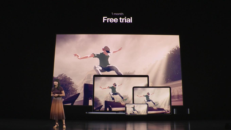 Apple Arcade初回トライアル1ヶ月