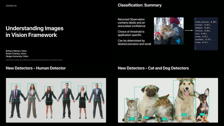 iOS 13のVision Framework