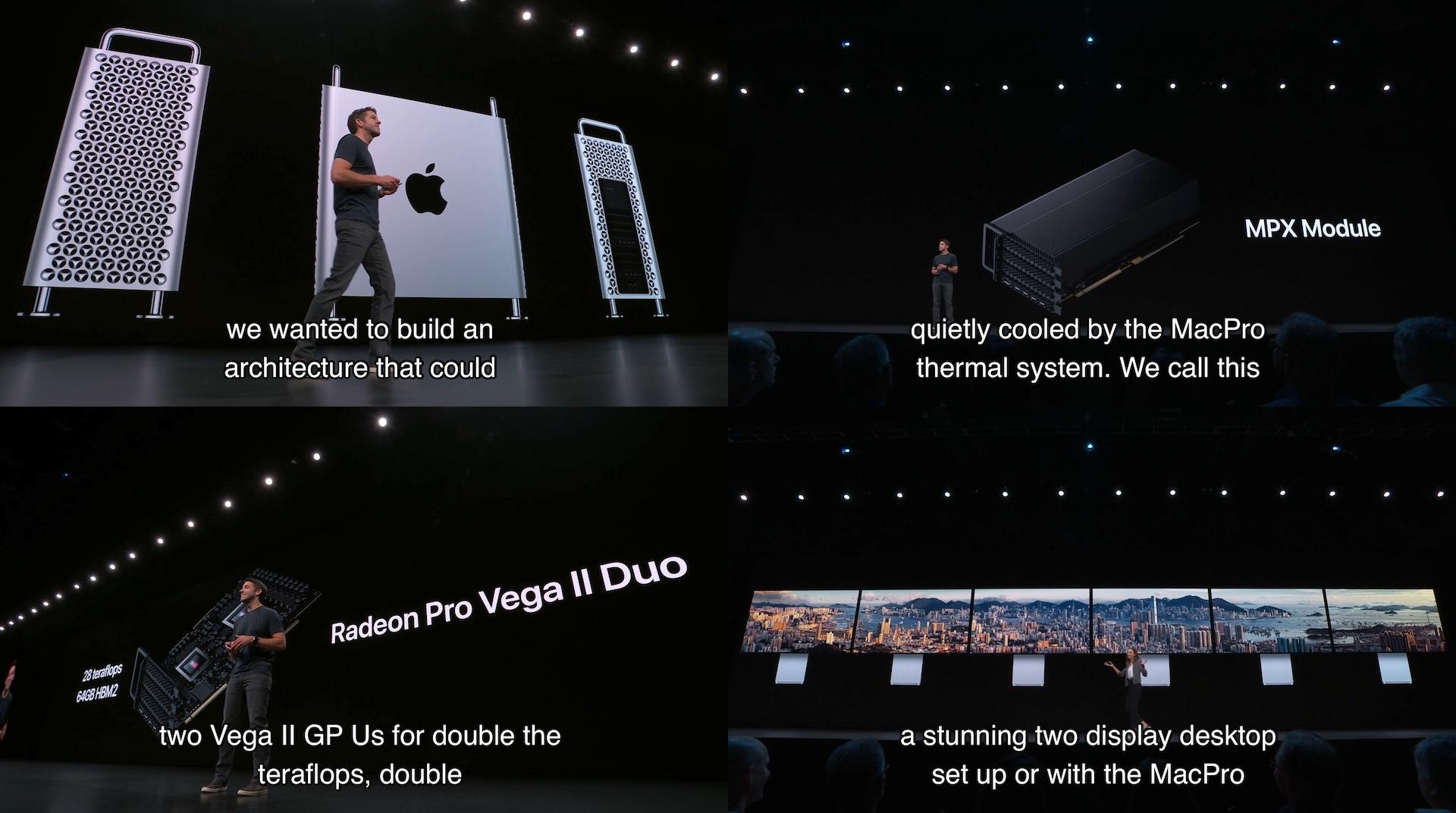 Mac Pro (2019)のGPU性能
