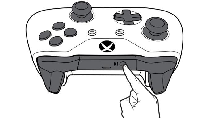 Xbox Oneワイヤレスコントローラーペアリング