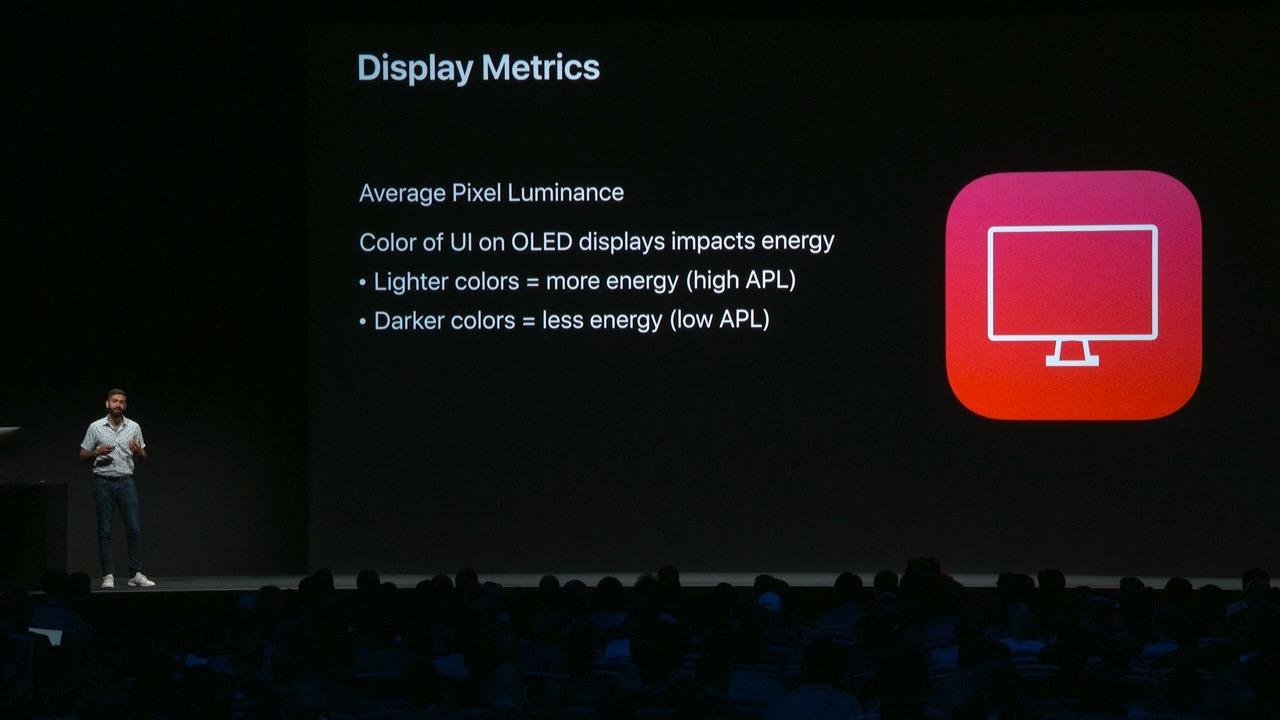 iOS 13 Dark Modeで省電力化されるOLEDディスプレイ