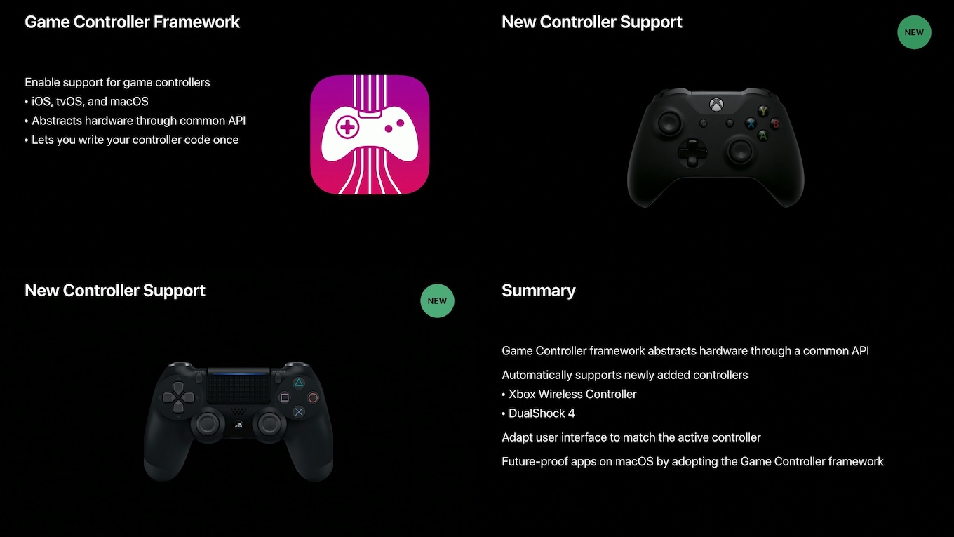 DualShock 4とXbox Wireless controller