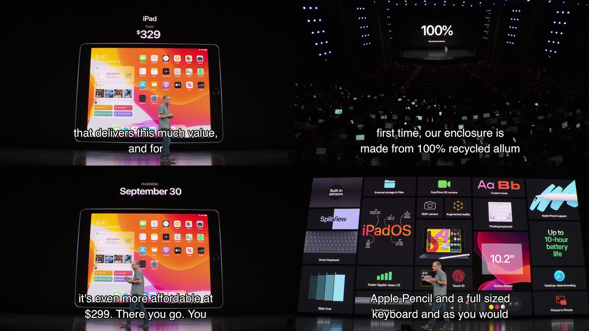 iPad 第7世代の機能