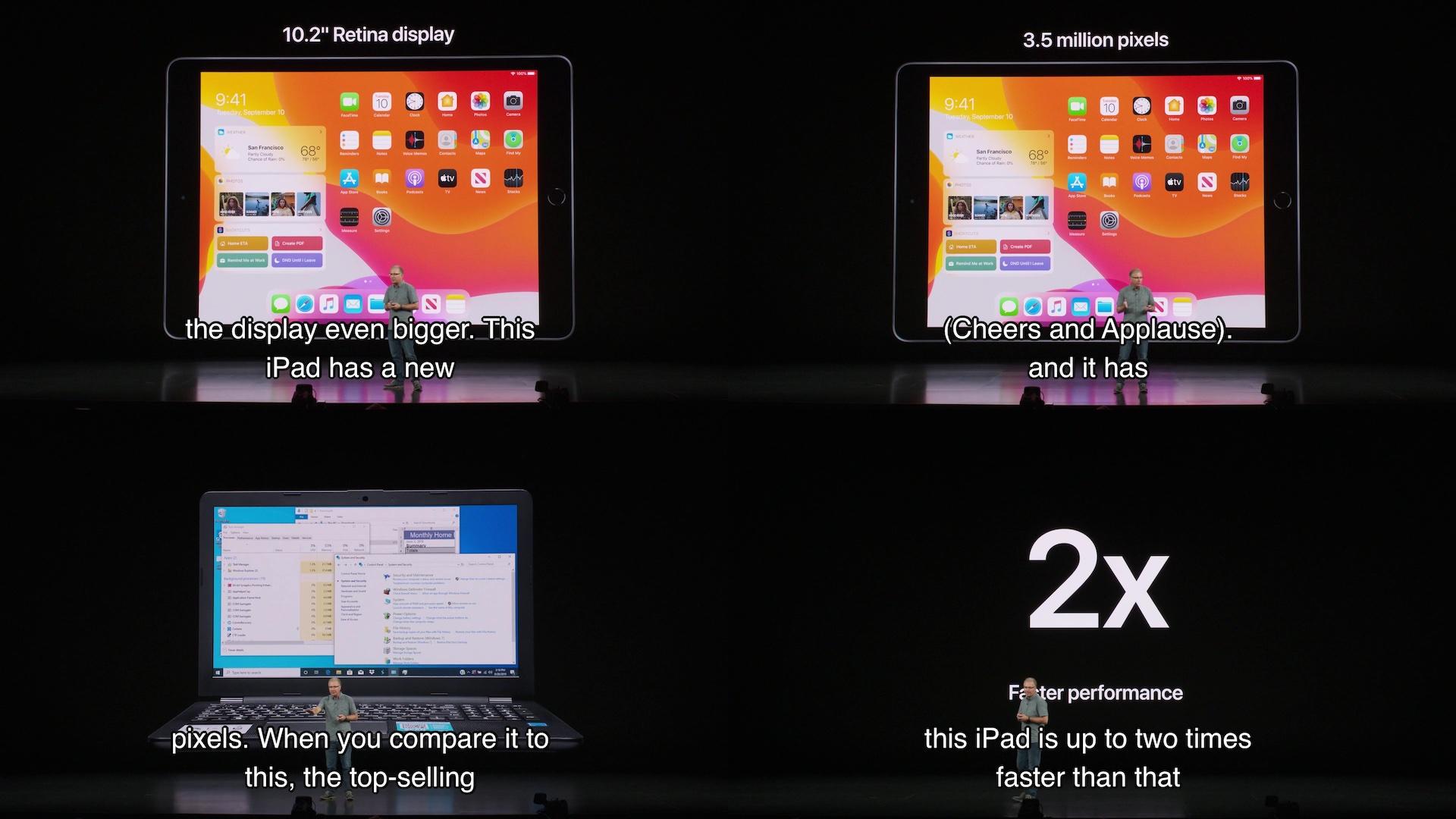iPad (第7世代)の性能