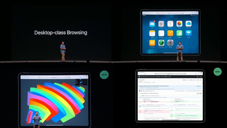 iPadOS 13のSafari