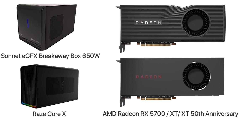 AMD Radeon RX 5700/XT on macOS 10.15 Catalina