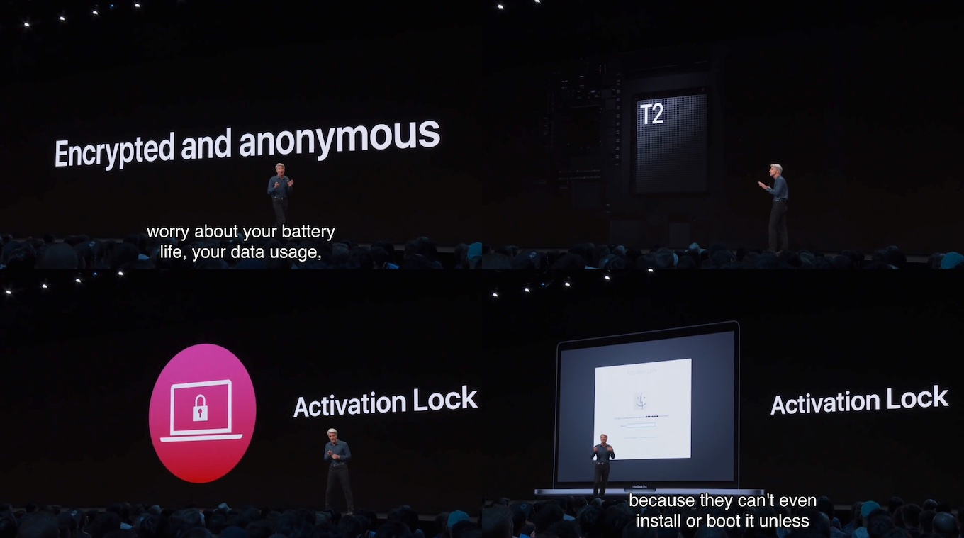 Mac用SoC「Apple T2」とActivation Lock