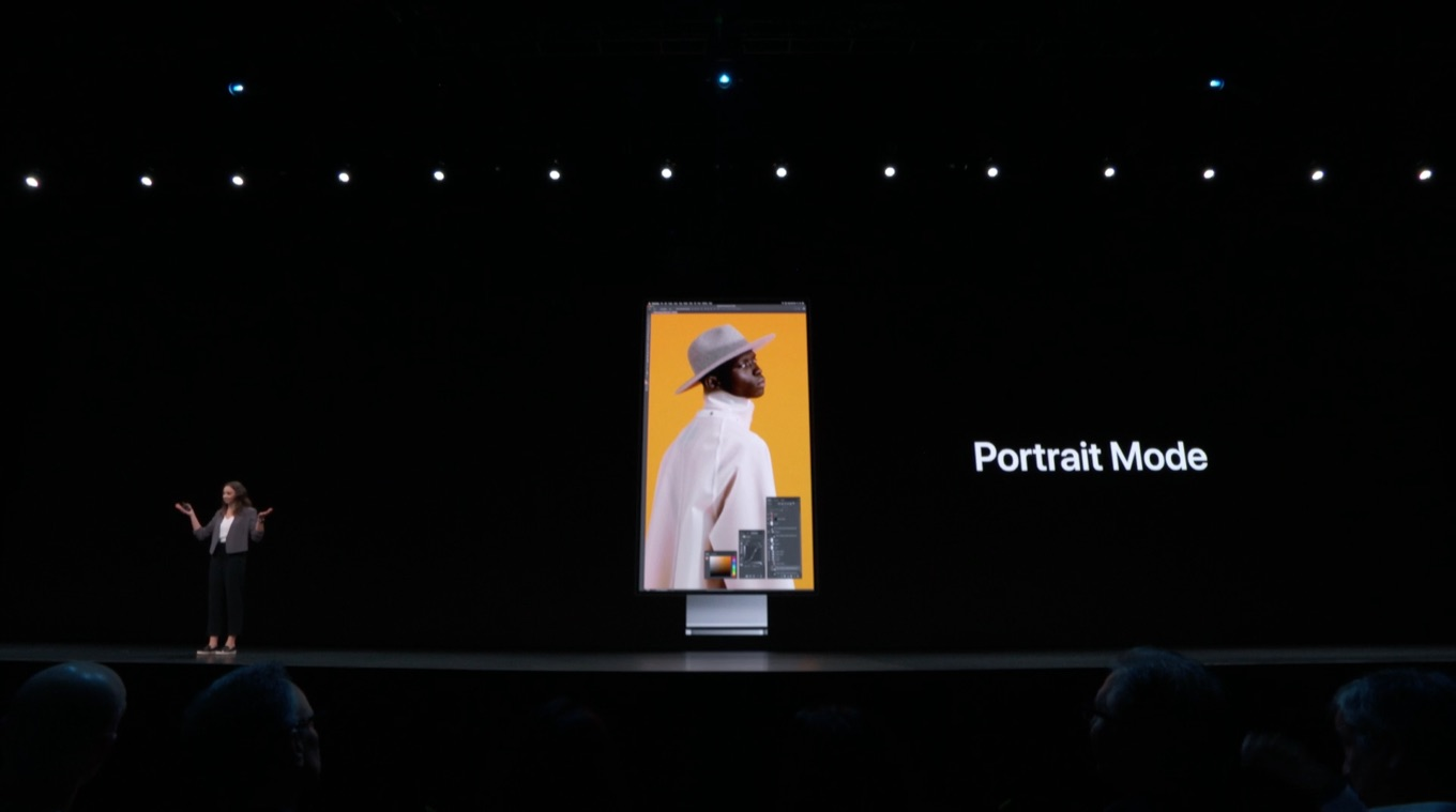 Pro Display XDR support portrait Mode
