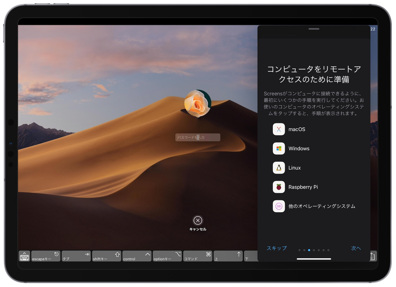 Screens for iPad v4.9