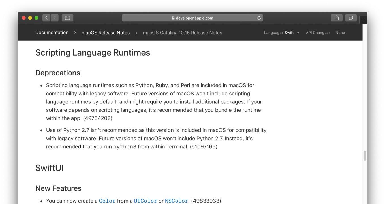 Scripting Language Runtimes