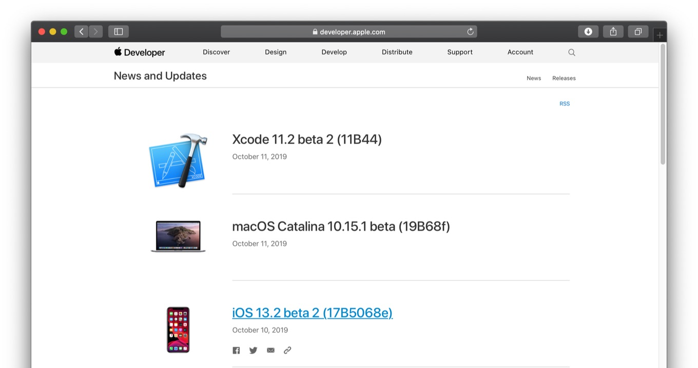 macOS Catalina 10.15.1 Beta 1