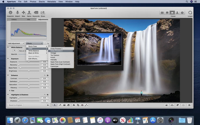 macOS 10.15 Catalinaで動くようになったAperture